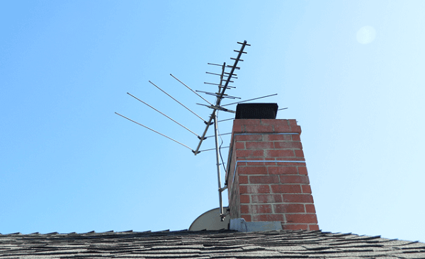 Television antennas for rural areas